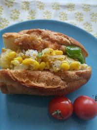ポテトサンドの朝ごパン - 料理研究家ブログ行長万里  日本全国 美味しい話