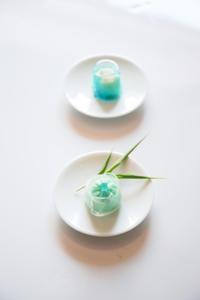 夏のラッピング(和菓子) - のんびりのびのび