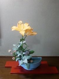 梅を収穫・坪庭を整理、腰痛になった! - 活花生活(2)