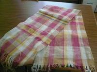 6月の織物活動① - イクトスマイムの手織り活動~草木染めの糸を使って~