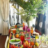ピムスを片手に…初夏のガーデンブランチテーブル - Table & Styling blog