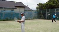 Kさんがテニスコートに戻ってきた - テニスのおじさま日記