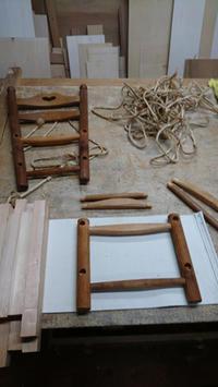 縄巻き椅子 メンテナンス - KAKI CABINETMAKER