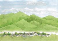 団地暮らしの水彩画 - プチ撮り福岡そしてスケッチ 博多人物スケッチ会