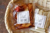 南国食堂 shan2 のお漬物と、つりや の沖漬け - bambooforest blog
