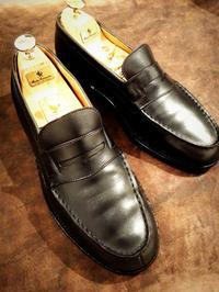 【J.M.Weston】シグネチャーローファー180、磨きました - Shoe Care & Shoe Order 「FANS.浅草本店」M.Mowbray Shop