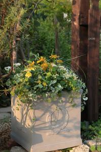 爽やかな色使い - CHIROのお庭しごと