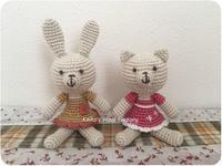 よつばカフェさん あみぐるみ 追加納品 - あみぐるみブログ Keiko's Wool Life