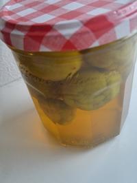 梅のピクルス - 料理研究家ブログ行長万里  日本全国 美味しい話