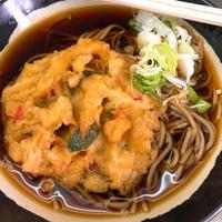 伝統的、駅立ち食いそばの見本のようなお店「日栄軒」の天ぷらそばは素晴らしい。:東神奈川駅 - あれも食べたい、これも食べたい!EX