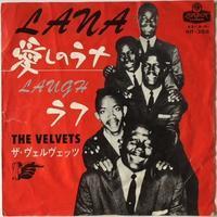 The Velvets – Lana / Laugh (ザ・ヴェルヴェッツ – 愛しのラナ / ラフ) - まわるよレコード ACE WAX COLLECTORS