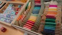 ゆびぬきカフェに参加しました - 空色テーブル  編み物レッスン