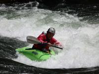 『激流に挑む 長良川のカヌーイスト達・・・』 - 自然風の自然風だより