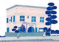 松本市下島眼科医院 - たなかきょおこ-旅する絵描きの絵日記/Kyoko Tanaka Illustrated Diary