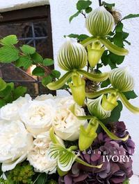 〜先日の花贈りから〜♬ -  Flower and cafe 花空間 ivory (アイボリー)