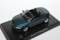 1/64 Kyosho AUDI German Dealer TT Roadster - 1/87 SCHUCO & 1/64 KYOSHO ミニカーコレクション byまさーる