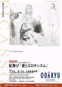 ピカソ「愛とエロチシズム」 - Art Museum Flyer Collection
