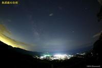 梅雨の晴れ間の夜空 - 奥武蔵の自然