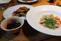 インゲンのスープ煮 - 二つの台所