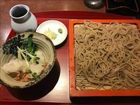 「ときわ」でおろし蕎麦@日本橋箱崎町 - 人形町からごちそうさま
