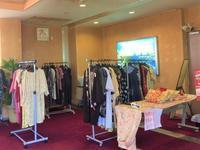 めぐみの湯 着物リメイク服の展示即売会 - げんきの郷の日々