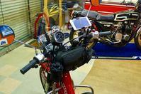 バイクにナビって装着してはりますか?CT110でナビ初体験♪ - The 30th Freedom カワサキZ&ハーレー直輸入日記