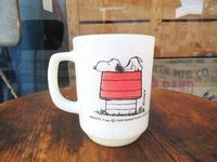 70's Fire King Snoopy Mug Morning Allergy - DELIGHT CLOTHING&SUPPLY