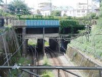 東京山手急行電鉄の痕跡と言われる橋梁を見に行った - 俺の居場所2