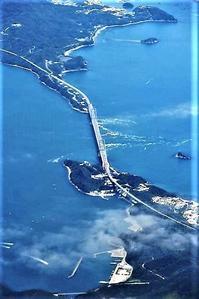 藤田八束の鉄道写真@鳴門の渦潮が今最高、美しい渦がスカイマークからウオッチ・・・伊丹~鹿児島へ - 藤田八束の日記