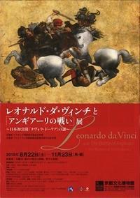 レオナルド・ダ・ヴィンチと「アンギアーリの戦い」展 - 微睡みの絵画の制作ノート