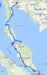 第3の旅:バンコクからサトゥーンまでタイ国内移動のまとめ - kimcafe トラベリング