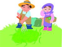 草刈りの季節(岡) - 柚の森の仲間たち