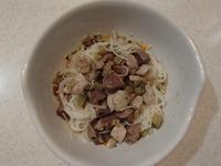 6/17(日)朝ごはん 肉野菜煮込み・豚モモ砂肝なすびソテーそうめん - 今日のつばきごはん