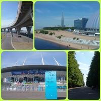 【LED】新お散歩コース スタジアム周辺 ~JICサンクトペテルブルグ便り~ - ■ JIC トピックス ■  ~ ロシア・旧ソ連の情報あれこれ ~