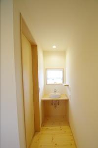洗面コーナー/ふたつの和室を愉しむ家 - K+Y アトリエ一級建築士事務所