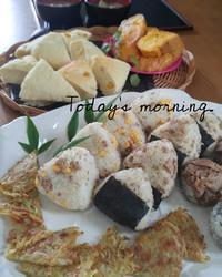 息子達の朝ごはん - 料理研究家ブログ行長万里  日本全国 美味しい話