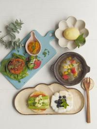 イングリッシュマフィンサンドの朝ごはん - 陶器通販・益子焼 雑貨手作り陶器のサイトショップ 木のねのブログ