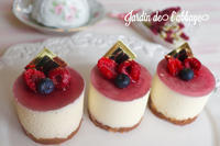 マスカルポーネのムース - 「jardin de l'abbaye 」お菓子ブログ