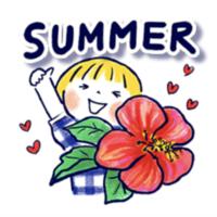 夏スタンプ第三弾! - irodori ふたり日記