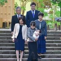 大神神社でお宮参り - Kiki日記・結婚式カメラマンの子育てブログ