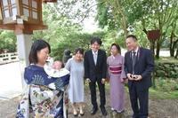 橿原神宮でお宮参り - Kiki日記・結婚式カメラマンの子育てブログ