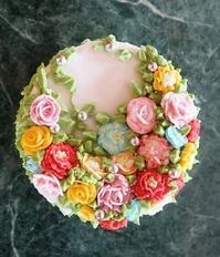 アイシングのずーと飾っておけるケーキのオブジェ - 私のお気楽生活