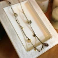 木の実のアクセサリーレッスン⑅︎◡̈︎* - driedflower arrangement ✦︎ botanical accessory ✦︎ yukonanai ✦︎ gland*