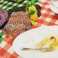 7月21日(土)ニットカフェ大崎2のご案内 - 空色テーブル  編み物レッスン
