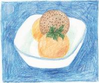 今日の絵「マンゴーアイス」 - vogelhaus note