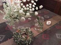 久し振りの講座依頼!「クリスマスリースorお正月飾り教室」編 - 納屋Cafe 岡山