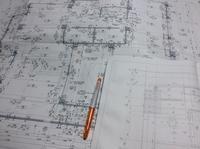 施工図チェック中。 - 設計事務所 arkilab