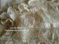 ピンクがほんのり、ほわぁ~んと優しい色のアネモネ♪ - 愛知 豊橋 布花アクセサリーCendrillon