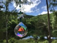 東山魁夷 緑響く - 虹を浴びる