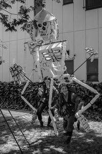挨拶する骸骨たち - Silver Oblivion